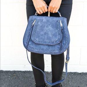 VICI Collection Highland Handbag in Midnight Blue